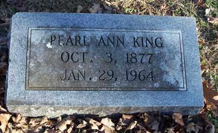 KING, PEARL ANN - Washington County, Arkansas | PEARL ANN KING - Arkansas Gravestone Photos