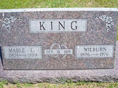 KING, MABLE L. - Washington County, Arkansas | MABLE L. KING - Arkansas Gravestone Photos