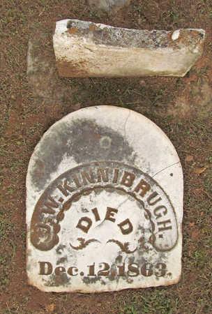 KINNIBRUGH (VETERAN CSA), JAMES W - Washington County, Arkansas | JAMES W KINNIBRUGH (VETERAN CSA) - Arkansas Gravestone Photos