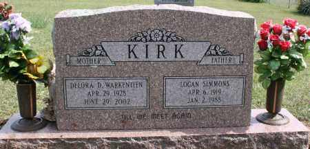 KIRK, DELORA DARLENE - Washington County, Arkansas | DELORA DARLENE KIRK - Arkansas Gravestone Photos