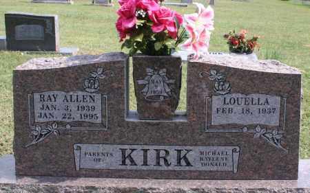 KIRK, RAY ALLEN - Washington County, Arkansas | RAY ALLEN KIRK - Arkansas Gravestone Photos