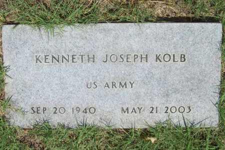 KOLB (VETERAN), KENNETH JOSEPH - Washington County, Arkansas | KENNETH JOSEPH KOLB (VETERAN) - Arkansas Gravestone Photos