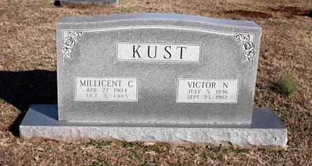 KUST, MILLICENT C. - Washington County, Arkansas | MILLICENT C. KUST - Arkansas Gravestone Photos