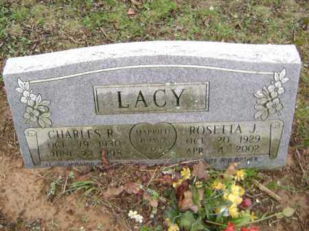 LACY, CHARLES R - Washington County, Arkansas | CHARLES R LACY - Arkansas Gravestone Photos
