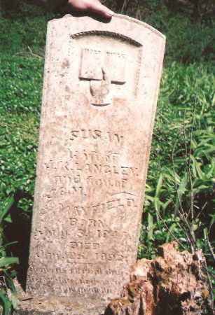 LANGLEY, SUSAN - Washington County, Arkansas   SUSAN LANGLEY - Arkansas Gravestone Photos