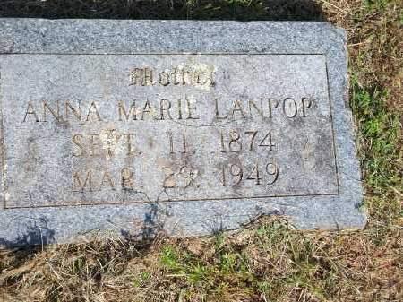 LANPOP, ANNA MARIE - Washington County, Arkansas | ANNA MARIE LANPOP - Arkansas Gravestone Photos