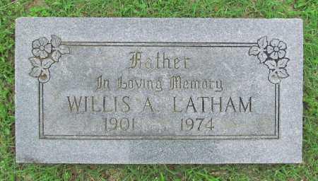 LATHAM, WILLIS A - Washington County, Arkansas   WILLIS A LATHAM - Arkansas Gravestone Photos