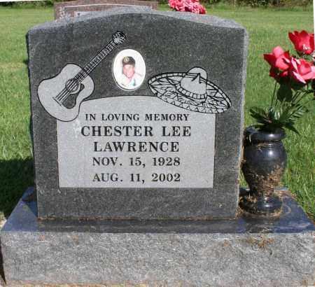 LAWRENCE, CHESTER - Washington County, Arkansas   CHESTER LAWRENCE - Arkansas Gravestone Photos