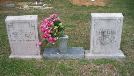 LEE, CHARLEY LEROY - Washington County, Arkansas | CHARLEY LEROY LEE - Arkansas Gravestone Photos