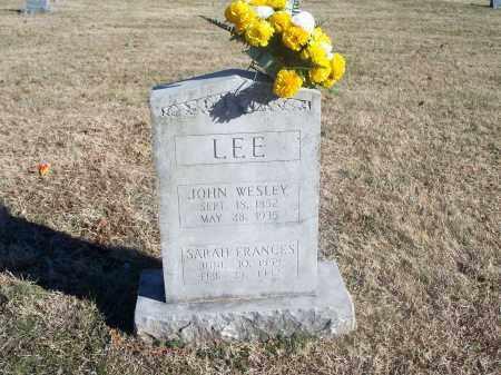 LEE, JOHN WESLEY - Washington County, Arkansas | JOHN WESLEY LEE - Arkansas Gravestone Photos