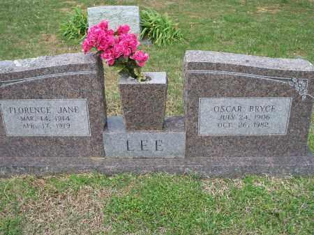 LEE, FLORENCE JANE - Washington County, Arkansas | FLORENCE JANE LEE - Arkansas Gravestone Photos