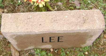 LEE, UNKNOWN - Washington County, Arkansas   UNKNOWN LEE - Arkansas Gravestone Photos