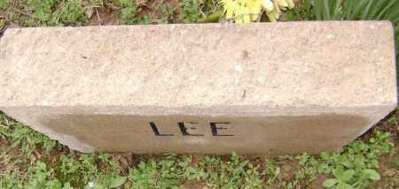 LEE, UNKNOWN - Washington County, Arkansas | UNKNOWN LEE - Arkansas Gravestone Photos