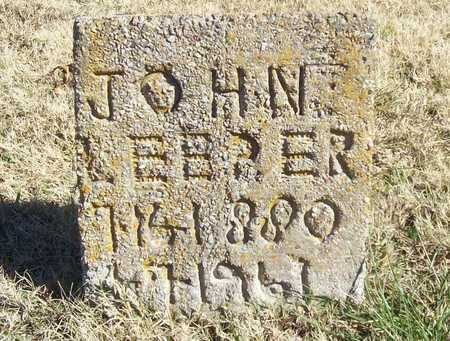 LEEPER, JOHN FRANK - Washington County, Arkansas | JOHN FRANK LEEPER - Arkansas Gravestone Photos