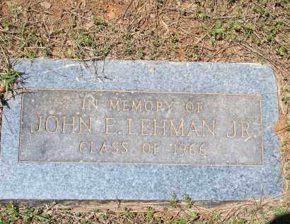 LEHMAN [PIC 2], JOHN EUGENE, JR. - Washington County, Arkansas   JOHN EUGENE, JR. LEHMAN [PIC 2] - Arkansas Gravestone Photos
