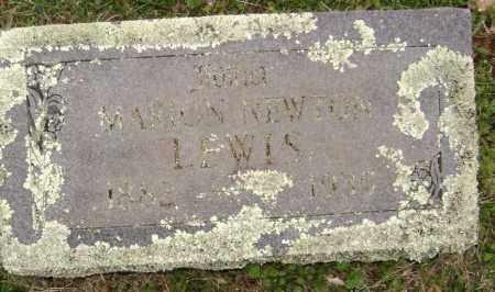 LEWIS, MARION NEWTON - Washington County, Arkansas   MARION NEWTON LEWIS - Arkansas Gravestone Photos