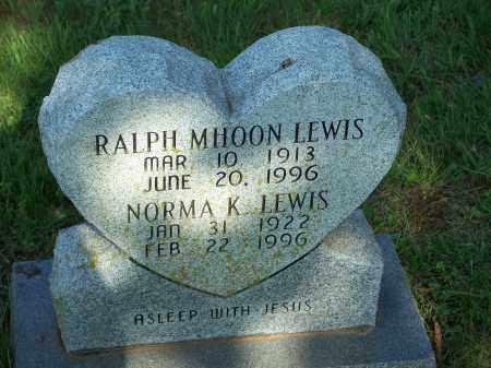 LEWIS, RALPH MHOON - Washington County, Arkansas | RALPH MHOON LEWIS - Arkansas Gravestone Photos