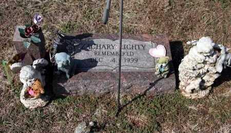 LICHTY, ZACHARY - Washington County, Arkansas | ZACHARY LICHTY - Arkansas Gravestone Photos