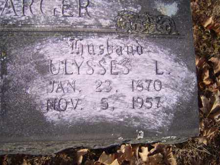 LINEBARGER, ULYSSES L. - Washington County, Arkansas | ULYSSES L. LINEBARGER - Arkansas Gravestone Photos