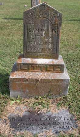LITTLE, SAMUEL R. - Washington County, Arkansas | SAMUEL R. LITTLE - Arkansas Gravestone Photos