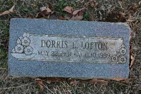 LOFTON, DORRIS L. - Washington County, Arkansas | DORRIS L. LOFTON - Arkansas Gravestone Photos