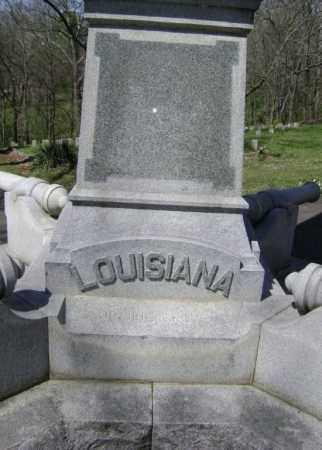 LOUISANA, MEMORIAL - Washington County, Arkansas | MEMORIAL LOUISANA - Arkansas Gravestone Photos