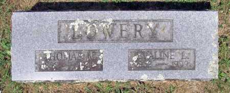LOWERY, EVALINE L - Washington County, Arkansas | EVALINE L LOWERY - Arkansas Gravestone Photos