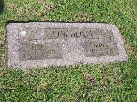 LOWMAN, JAMES - Washington County, Arkansas | JAMES LOWMAN - Arkansas Gravestone Photos