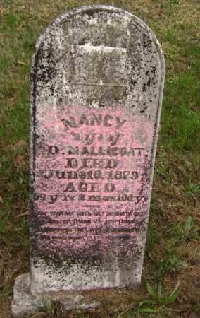 MALLICOAT, NANCY - Washington County, Arkansas | NANCY MALLICOAT - Arkansas Gravestone Photos