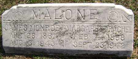MALONE, JAMES MONROE - Washington County, Arkansas | JAMES MONROE MALONE - Arkansas Gravestone Photos