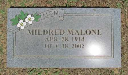 MALONE, MILDRED - Washington County, Arkansas | MILDRED MALONE - Arkansas Gravestone Photos