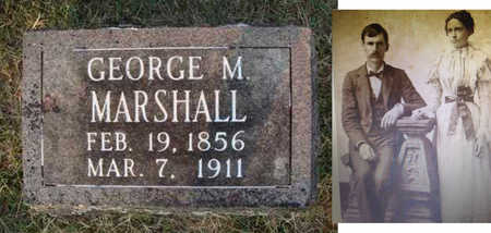MARSHALL, GEORGE MARTIN - Washington County, Arkansas | GEORGE MARTIN MARSHALL - Arkansas Gravestone Photos