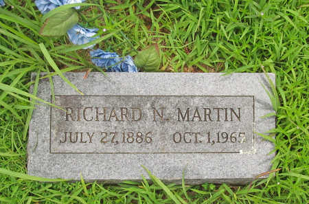 MARTIN, RICHARD N - Washington County, Arkansas   RICHARD N MARTIN - Arkansas Gravestone Photos