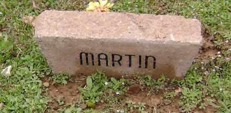 MARTIN, UNKNOWN - Washington County, Arkansas   UNKNOWN MARTIN - Arkansas Gravestone Photos