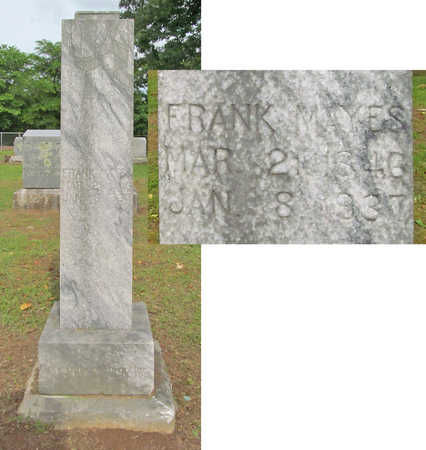 MAYES, FRANK - Washington County, Arkansas | FRANK MAYES - Arkansas Gravestone Photos