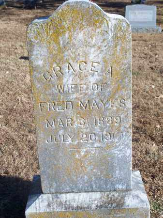 MAYES, GRACE A. - Washington County, Arkansas | GRACE A. MAYES - Arkansas Gravestone Photos