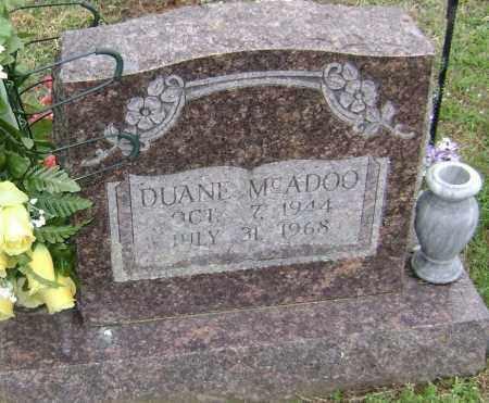 MCADOO, DUANE - Washington County, Arkansas   DUANE MCADOO - Arkansas Gravestone Photos