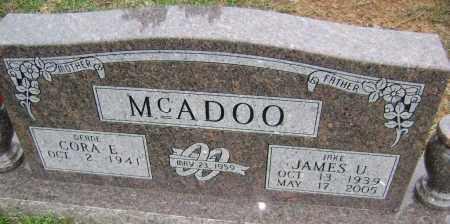 MCADOO, JAMES U. - Washington County, Arkansas | JAMES U. MCADOO - Arkansas Gravestone Photos