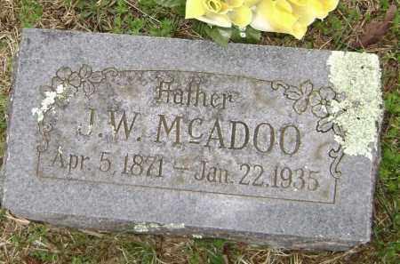 MCADOO, J. W. - Washington County, Arkansas | J. W. MCADOO - Arkansas Gravestone Photos