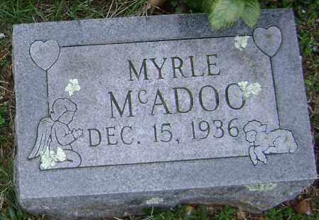 MCADOO, MYRLE - Washington County, Arkansas | MYRLE MCADOO - Arkansas Gravestone Photos