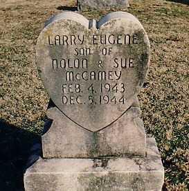 MCCAMEY, LARRY EUGENE - Washington County, Arkansas   LARRY EUGENE MCCAMEY - Arkansas Gravestone Photos