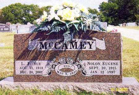 MCCAMEY, NOLON EUGENE - Washington County, Arkansas | NOLON EUGENE MCCAMEY - Arkansas Gravestone Photos