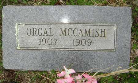 MCCAMISH, ORGAL - Washington County, Arkansas   ORGAL MCCAMISH - Arkansas Gravestone Photos