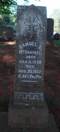 MCCAMPBELL (VETERAN CSA), SAMUEL SHANNON - Washington County, Arkansas | SAMUEL SHANNON MCCAMPBELL (VETERAN CSA) - Arkansas Gravestone Photos