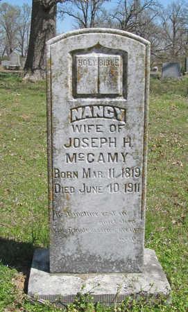 MCCAMEY, NANCY - Washington County, Arkansas | NANCY MCCAMEY - Arkansas Gravestone Photos