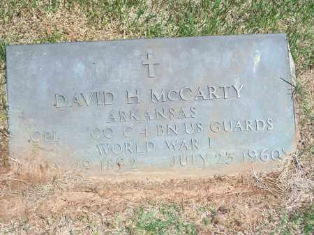 MCCARTY (VETERAN WWI), DAVID H. - Washington County, Arkansas | DAVID H. MCCARTY (VETERAN WWI) - Arkansas Gravestone Photos