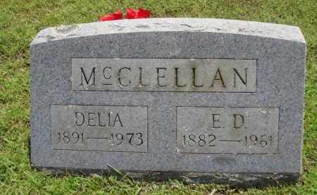 MCCLELLAN, DELIA - Washington County, Arkansas | DELIA MCCLELLAN - Arkansas Gravestone Photos