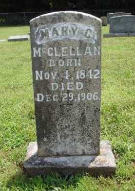 MCCLELLAN, MARY C. - Washington County, Arkansas   MARY C. MCCLELLAN - Arkansas Gravestone Photos