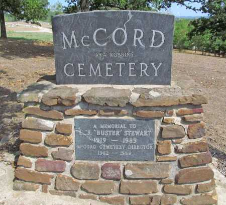 *MCCORD CEMETERY SIGN,  - Washington County, Arkansas |  *MCCORD CEMETERY SIGN - Arkansas Gravestone Photos