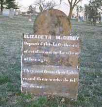 MCCURDY, ELIZABETH - Washington County, Arkansas   ELIZABETH MCCURDY - Arkansas Gravestone Photos